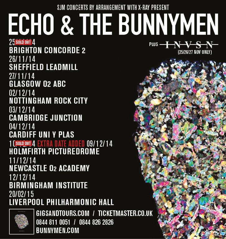 Bunnymen UK Tour